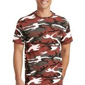 5.4 Oz 100% Cotton Camo Tee