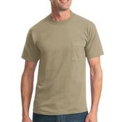 Heavyweight Blend ™ 50/50 Cotton/Poly Pocket T Shirt